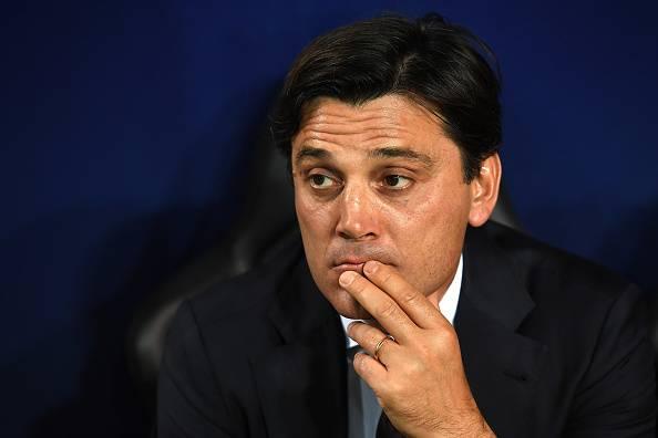 Montella e Galliani nel post partita di Milan-Genoa