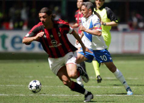 Roberto Baggio Paolo Maldini