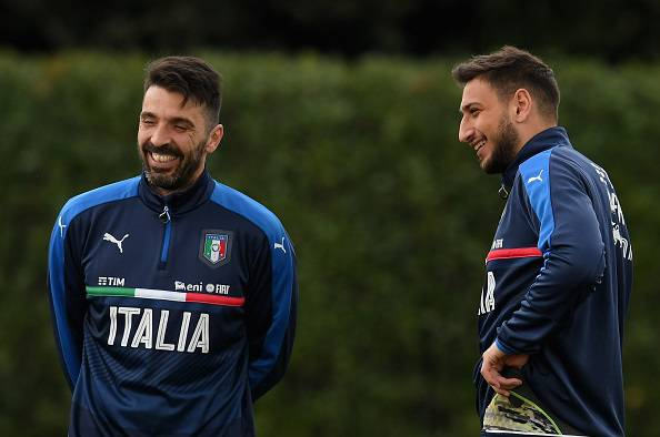 Gianluigi Buffon Gianluigi Donnarumma