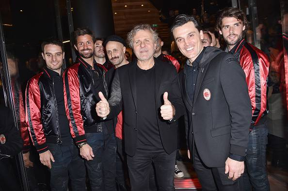 Renzo Rosso Vincenzo Montella Milan