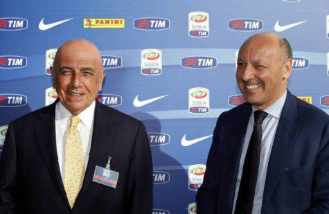 Adriano Galliani Beppe Marotta