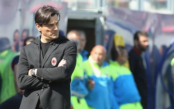 Montella: Il futuro è roseo al Milan. No comment su Maldini