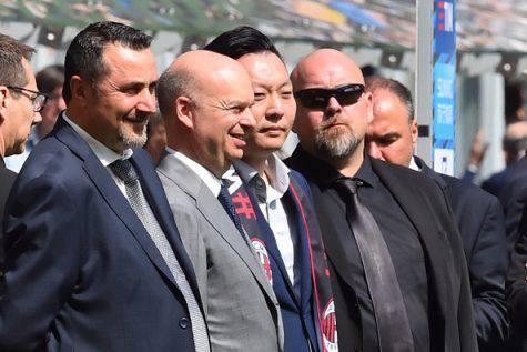 Massimiliano Mirabelli Marco Fassone David Han Li