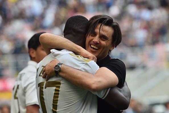 Cristian Zapata e Vincenzo Montella
