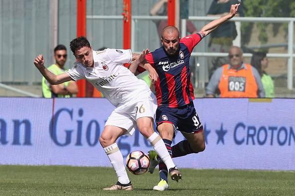 Davide Calabria Bruno Martella