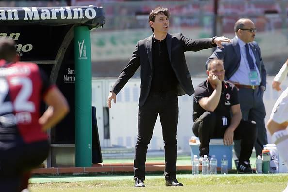 Milan. Vincenzo Montella prolunga il contratto di un anno