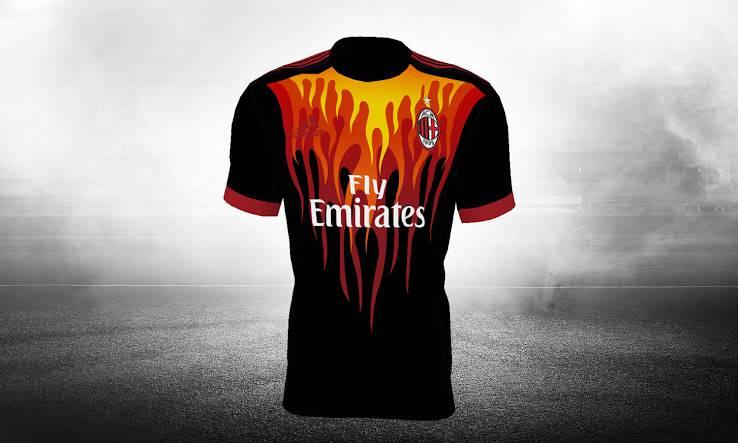 Terza Maglia AC Milan prima