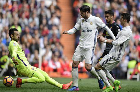 Diego Lopez Cristiano Ronaldo Alvaro Morat