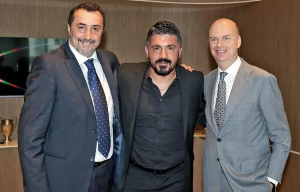 Marco Fassone e Massimiliano Mirabelli