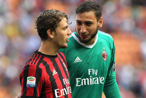 Manuel Locatelli Gianluigi Donnarumma