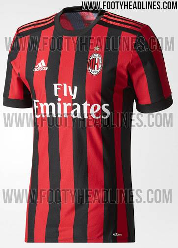 Nuova maglia Milan