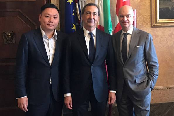 Marco Fassone Beppe Sala Han Li