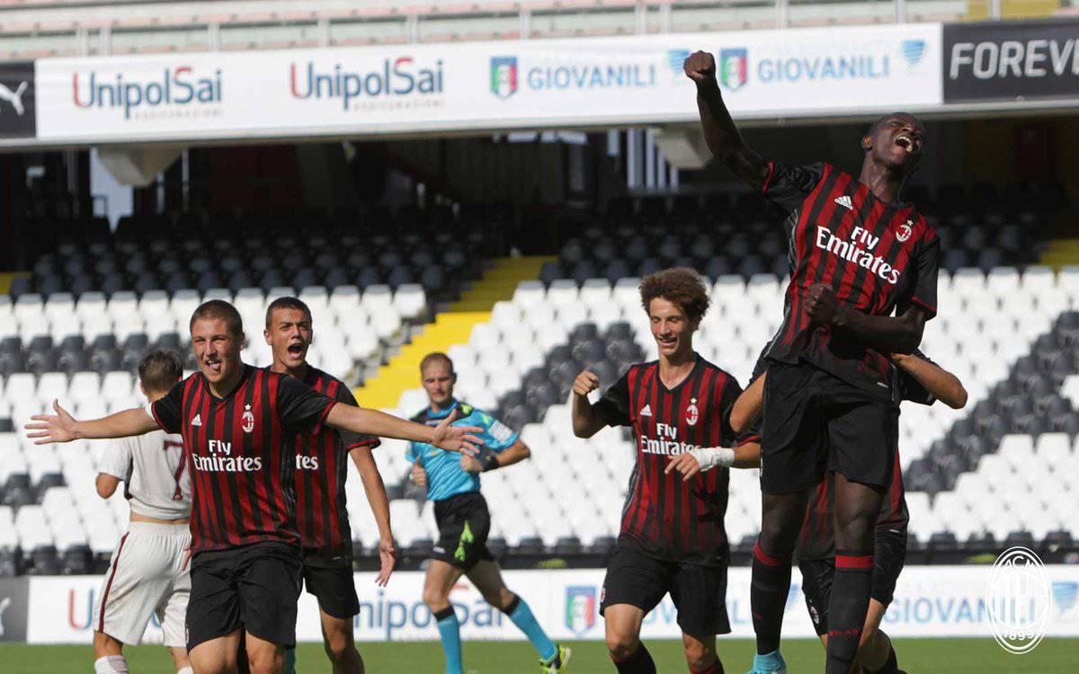 Trionfo Milan: la squadra Under 16 è campione d'Italia
