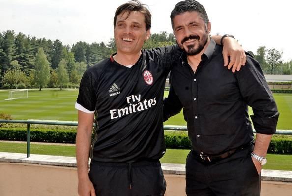 Vincenzo Montella Gennaro Gattuso