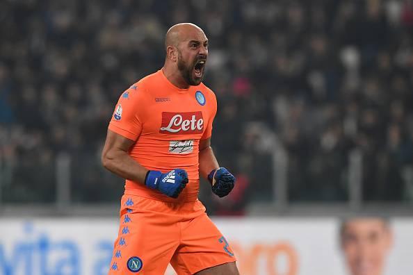 Napoli, rendimento di Reina al top: ipotesi rinnovo di contratto