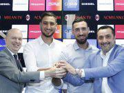 Massimiliano Mirabelli Antonio e Gigio Donnarumma Marco Fassone