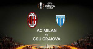 Milan-CSU Craiova