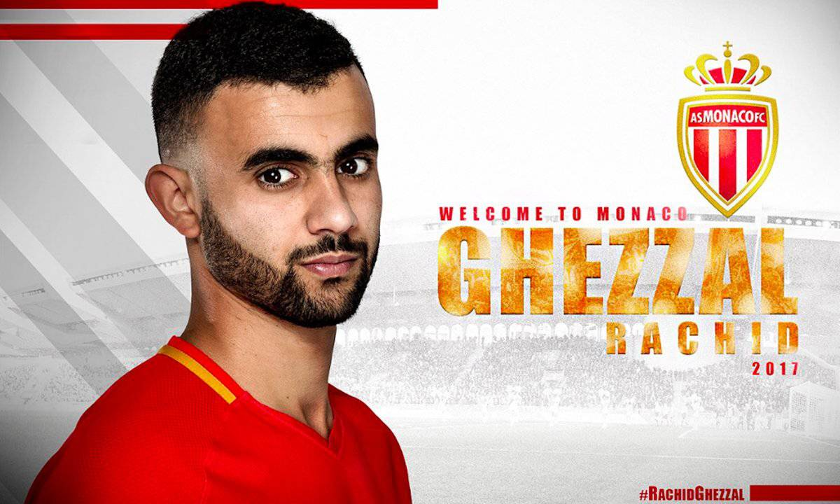 Ghezzal è un nuovo calciatore del Monaco