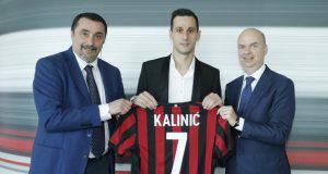 Nikola Kalinic Marco Fassone Massimiliano Mirabelli