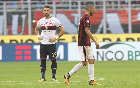 Milan, Bonucci scherza con Romagnoli: smentite tensioni post derby