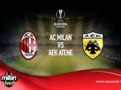 Milan AEK Atene