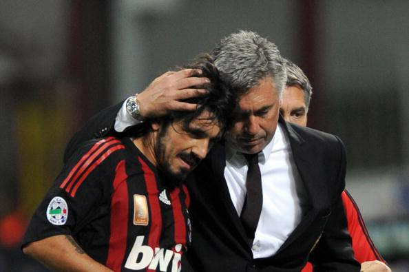 Gennaro Gattuso Carlo Ancelotti