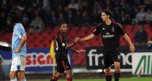 Zlatan Ibrahimovic Robinho