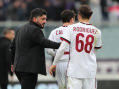 Gennaro Gattuso Ricardo Rodriguez Hakan Calhanoglu