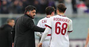 Gennaro Gattuso Ricardo Rodriguez Davide Calabria