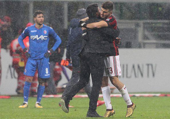 Gennaro Gattuso e Patrick Cutrone