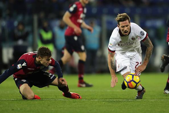 Probabili formazioni Cagliari-Milan: Gattuso lancia dall'inizio Biglia e Kalinic