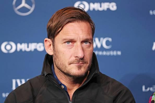 Francesco Totti positivo