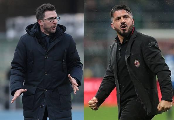 Eusebio Di Francesco Gennaro Gattuso