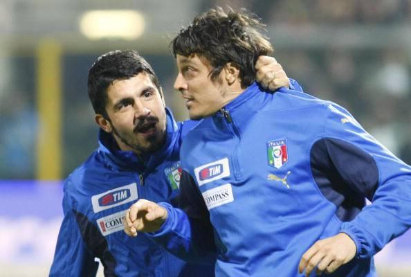Gennaro Gattuso Massimo Oddo