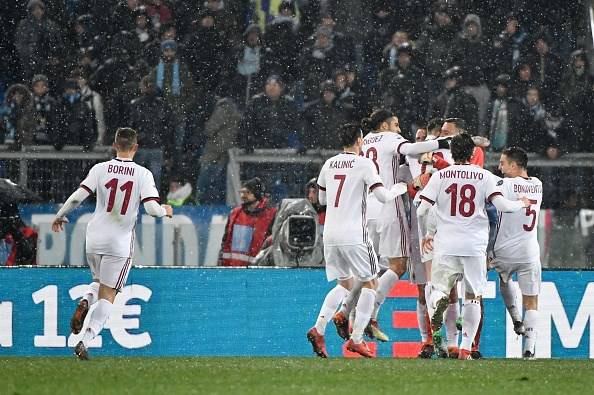 Esultanza Lazio Milan