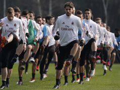 Allenamento Milan