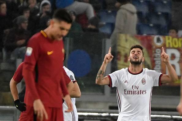Roma- Milan 0-2: Cutrone e Calabria regalano la vittoria all'Olimpico ai rossoneri