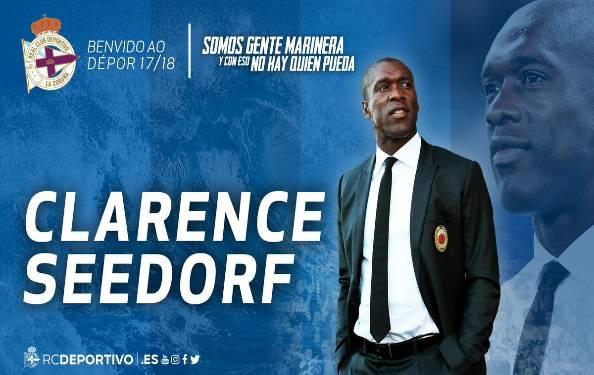 Deportivo, ufficiale: Seedorf il nuovo allenatore