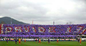 Coreografia Astori Fiorentina