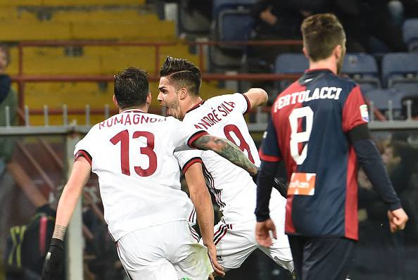 André Silva Alessio Romagnoli Andrea Bertolacci