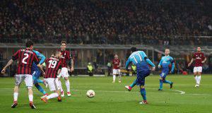 Milan-Arsenal Henrik Mkhitarian