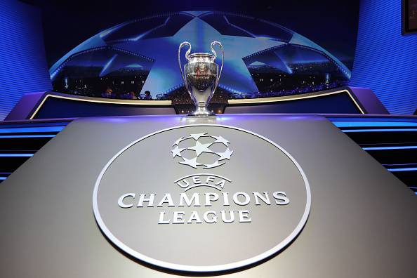 Champions League Trophy Logo