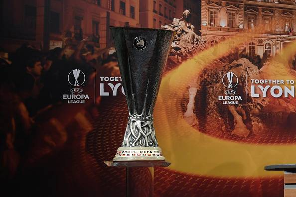 UEFA Europa League trophy