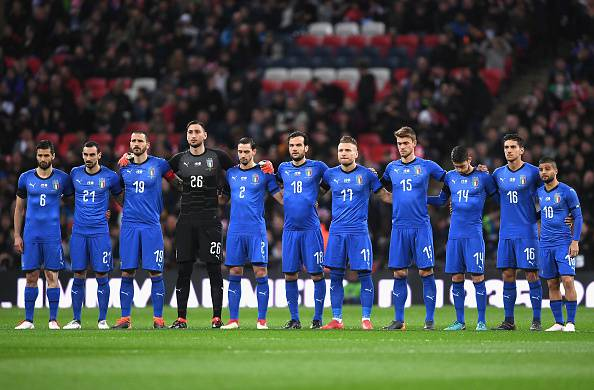 The Italy team