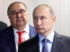 Vladimir Putin Alisher Usmanov