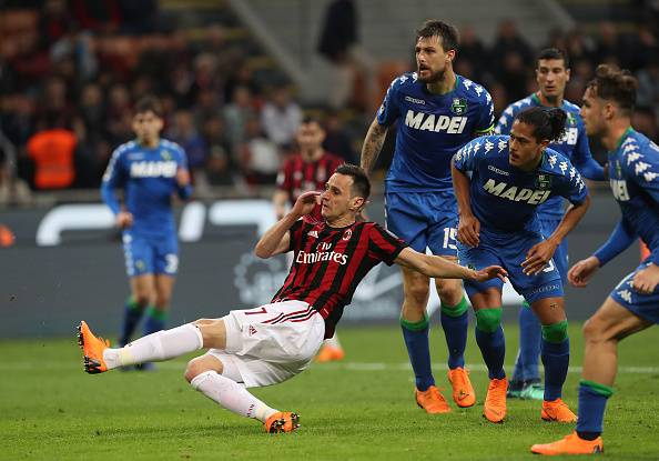 Milan-Napoli, le ultime: il sorpasso di Kalinic