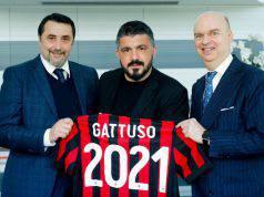Gennaro Gattuso Marco Fassone Massimiliano