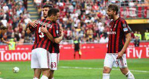 Esultanza Milan-Verona