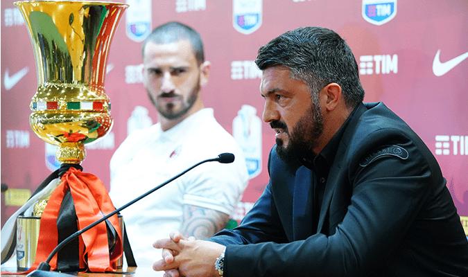 Gattuso Coppa Italia