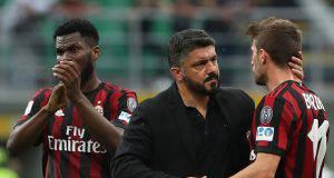 Franck Kessié Gennaro Gattuso Fabio Borini